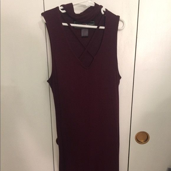 Polly & Esther Dresses & Skirts - MAROON dress